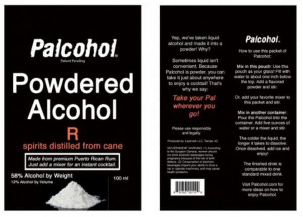 Powdered Alcoholic Drinks
