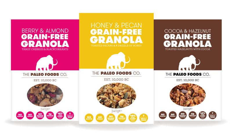 Grain-Free Granolas