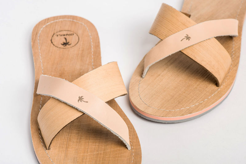 Palm Leaf-Made Sandals