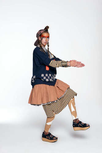 Quirky Tribal-Inspired Fashion