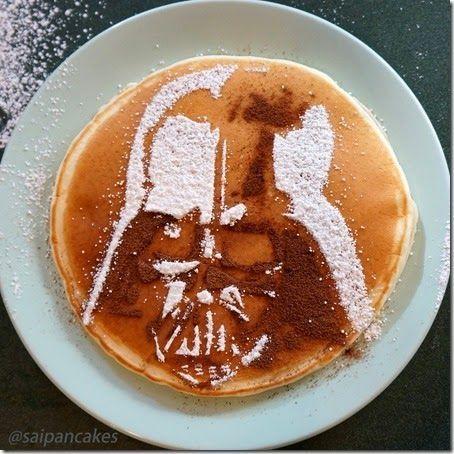 Playful Pancake Stencils