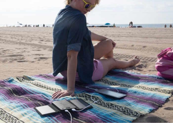 Laptop-Charging Solar Panels
