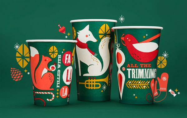 Enchanting Christmas Cups