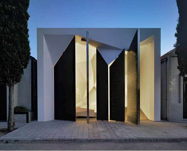 Modern Faceted Mausoleums