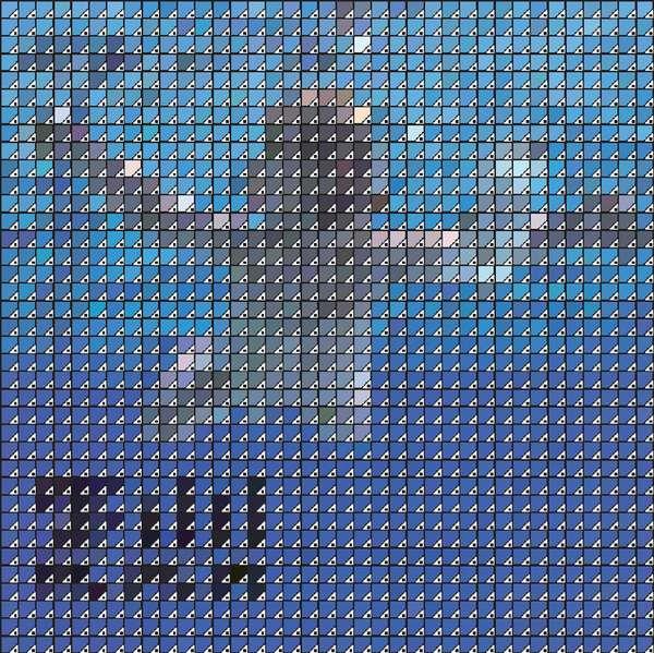 Pantone-Constructed Album Covers