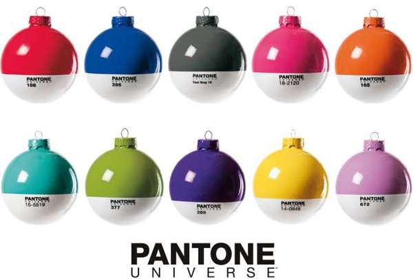Paint Chip Ornaments