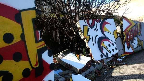 Exploding Street Art