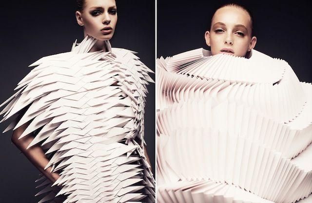 Paper Art Fashion