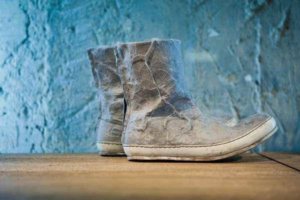Distressed Designer Shoes