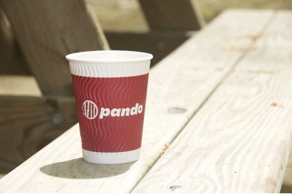 Embossed Coffee Cups