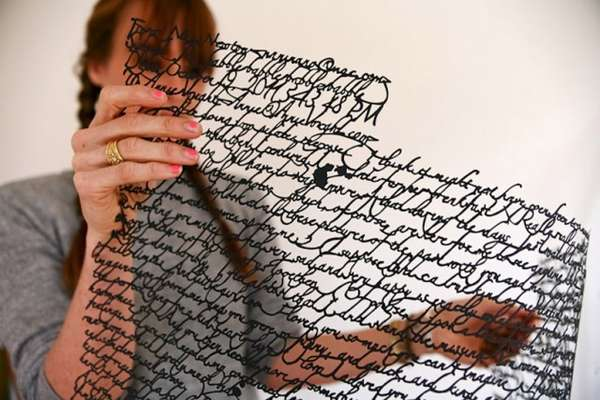 Cutout Correspondence Art