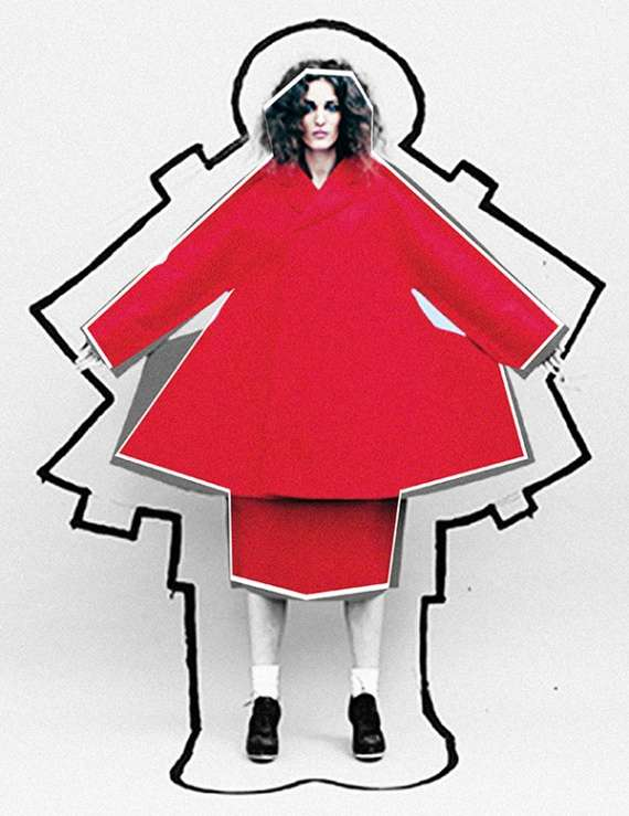 Paper Doll-Inspired Photography