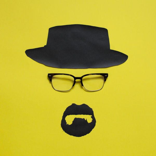 Iconic Eyewear Paper Illustrations