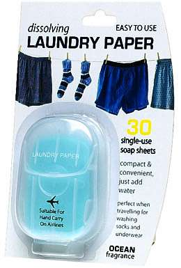 Paper Laundry Detergent