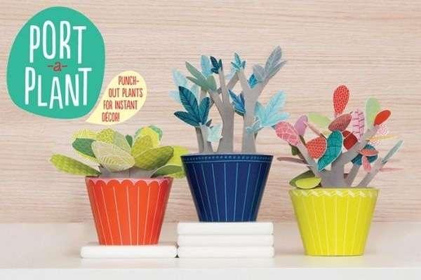 Pop-Up Paper Plants