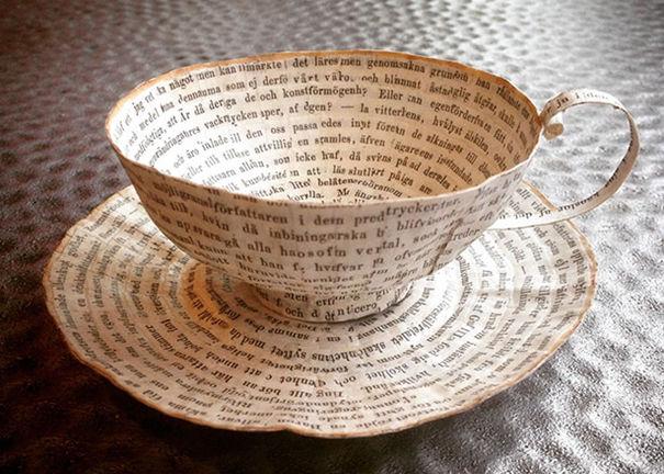 Repurposed Paper Pottery