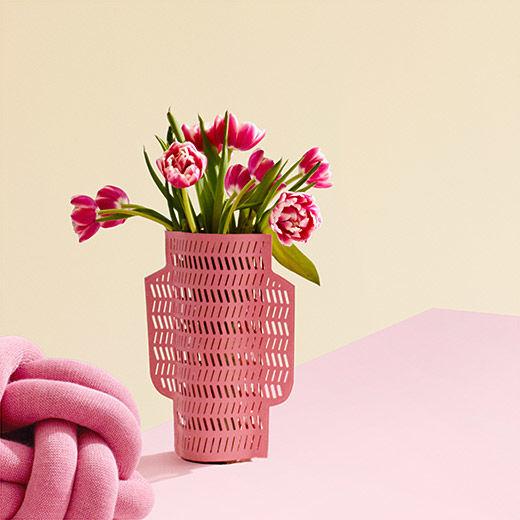 Water-Resistant Paper Vases