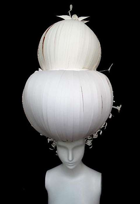 Exquisite Paper Headdresses