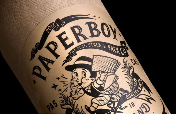 Paper-Based Beverage Branding