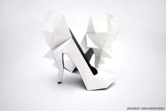 Papercraft Pumps