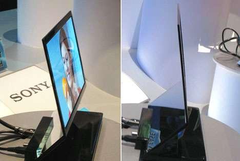 Papercut Thin TV Screen