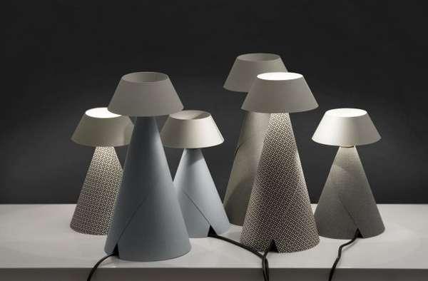 Paper Cone Lighting