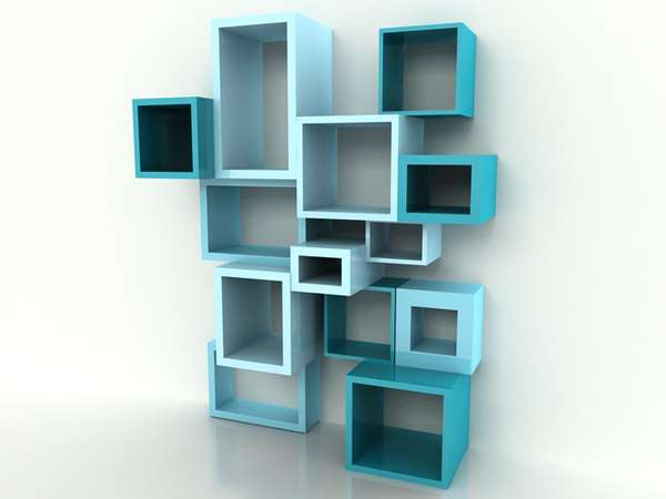 Snazzy Digital Shelving