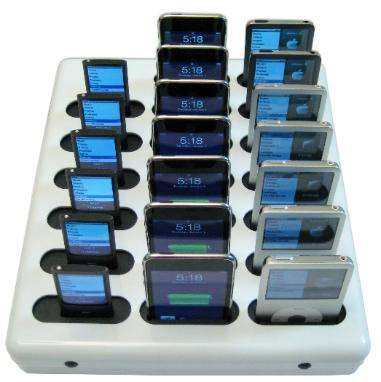 20 Slot iPod Docks
