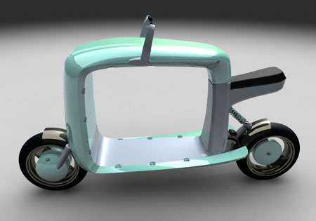 Parcel-Carrying Scooters