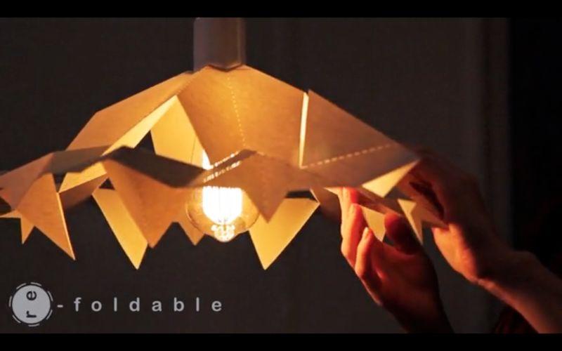 Shape-Shifting Lampshades