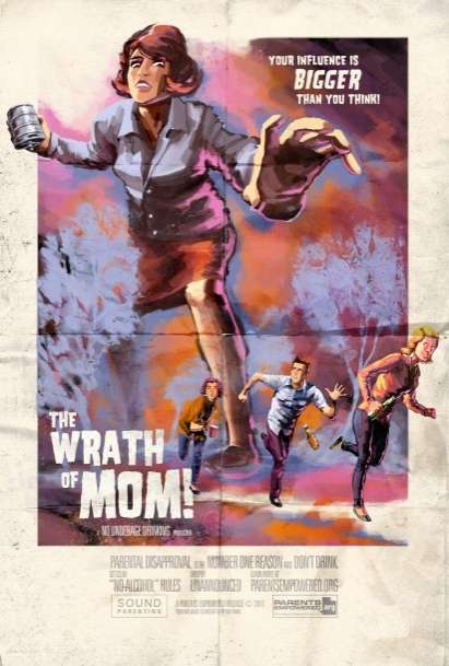 Monstrous Mom Ads
