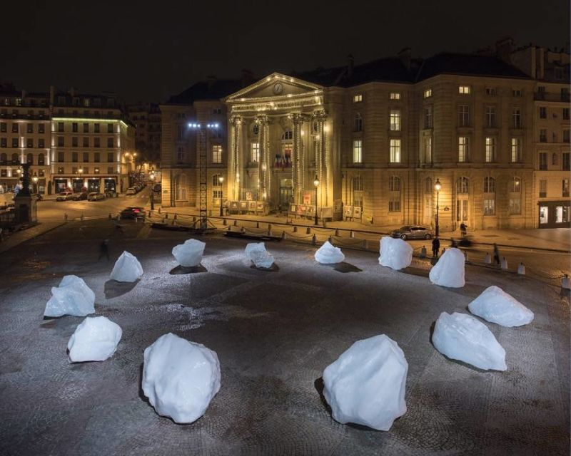 Icy Climate Change Installations