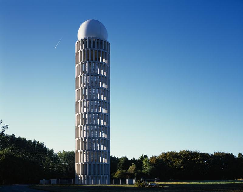 Latticed Radar Towers