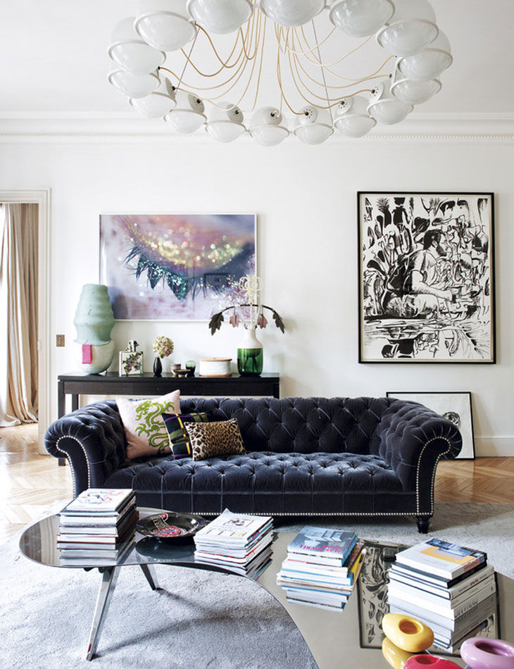 Eclectic French Residences