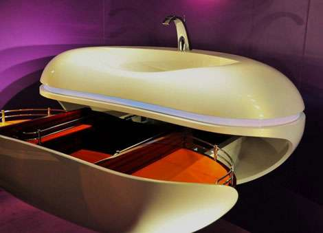 Bean-Shaped Sinks