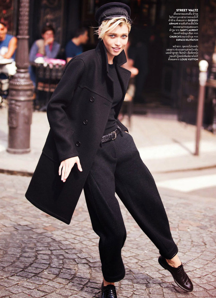 Boyish Parisian Editorials