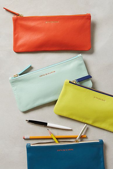 Parisian Pencil Cases