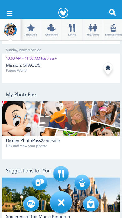 Interactive Theme Park Apps