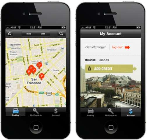 Peer-To-Peer Parking Apps