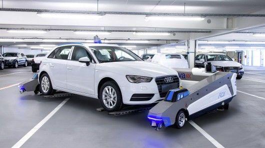 Autonomous Parking Robots