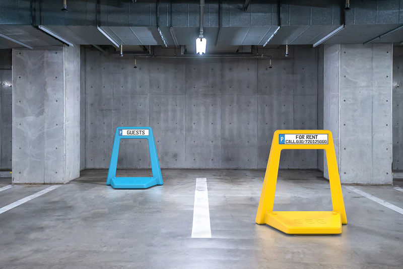 Moveable Parking Space Indicators