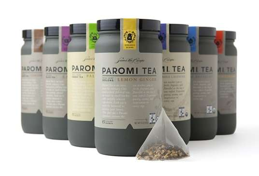 Paromi Tea Packaging