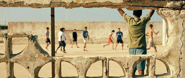 Dilapidated Cuban Sportsgrounds
