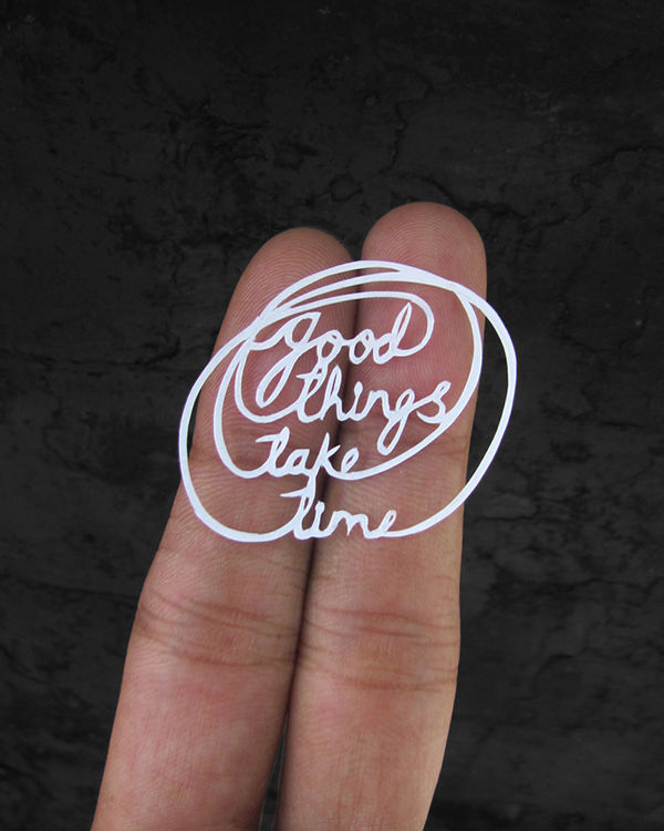 Papercut Motivational Messages