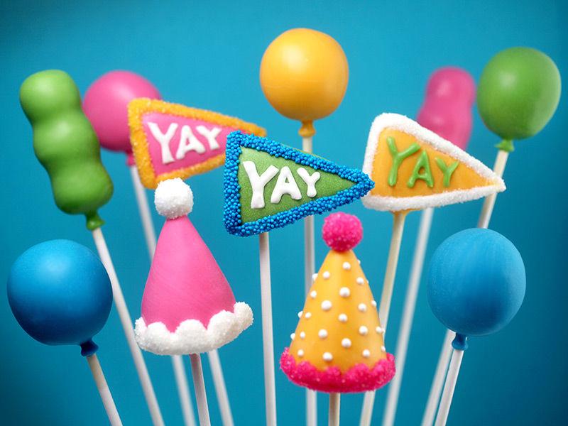 Decorative Party Pops