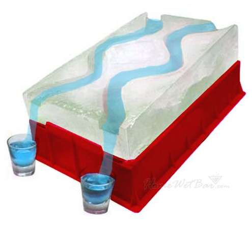 Ice Luge Party Shooters