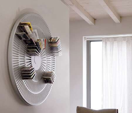 Wheel Wall Storage