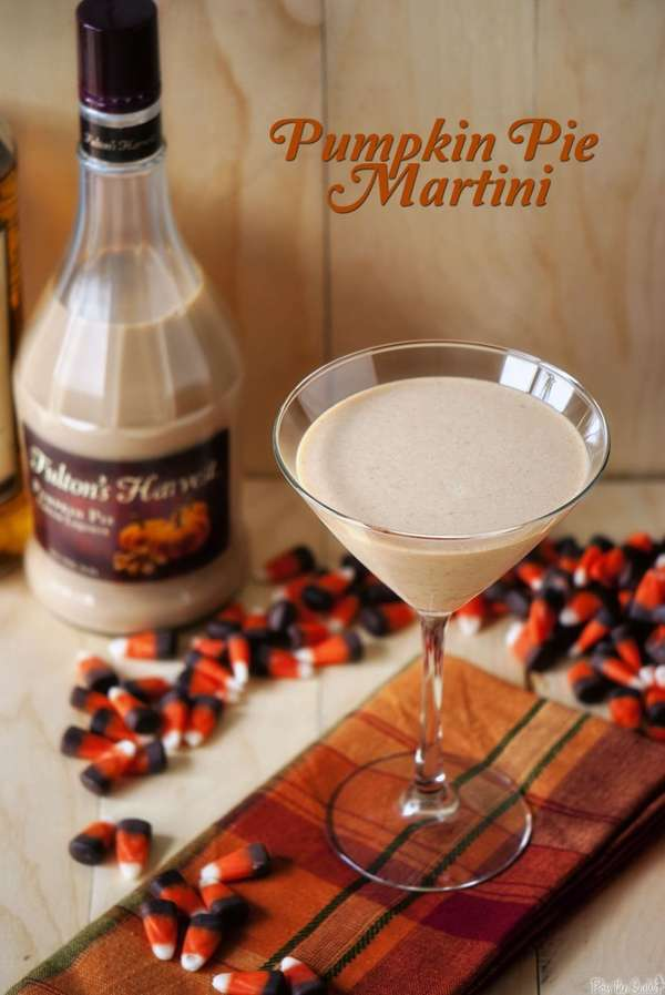 'Pass The Sushi' Pumpkin Pie Martini