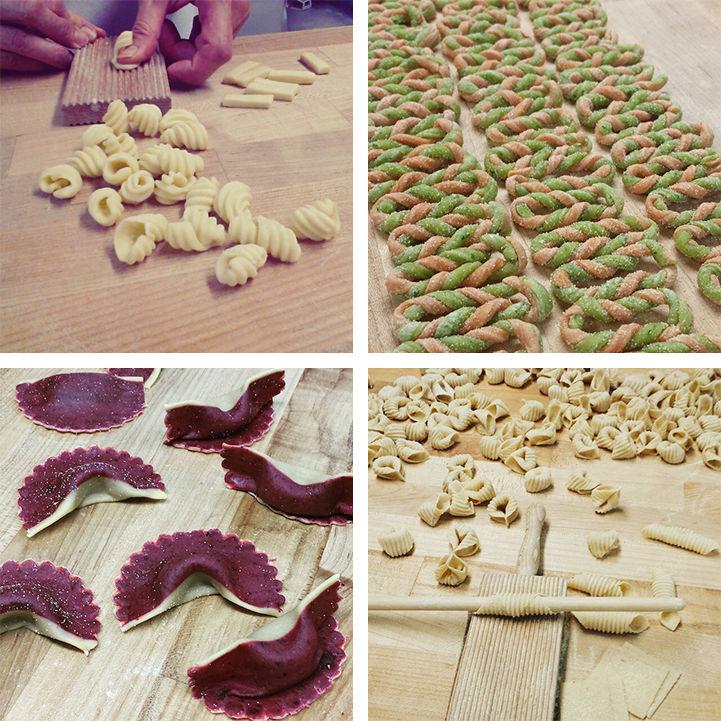 Edible Pasta Art