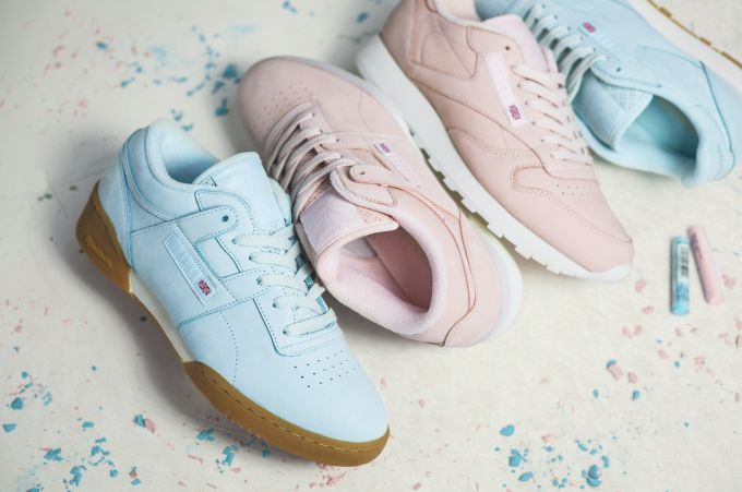 Collaboration Pastel Sneakers